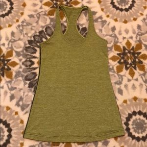 ✨Lululemon Green & Black Striped Tank sz. 6✨